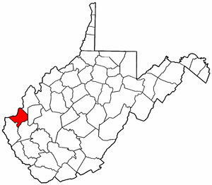 Image:Map of West Virginia highlighting Cabell County.png