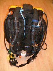 An Inspiration™ rebreather seen from the front