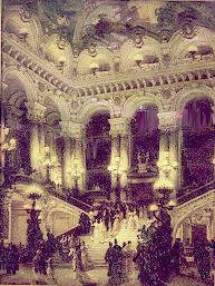 The foyer of 's Op�ra, Paris, opened 1875