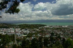 A view of Nelson from the Centre of New Zealand.