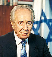 Shimon Peres, Israeli (former) Prime Minister and Minister of Defense: Negotiated France's military and nuclear aid for Israel