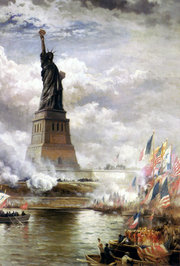 "Statue of Liberty - Liberty is one meaning of ""freedom""."