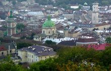 View from Lviv's Castle Hill