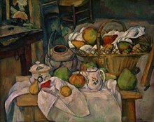 , Still Life with Fruit Basket, 1888-90, Barnes Foundation, .