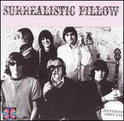 The Jefferson Airplane, portrayed on the cover of the Surrealistic Pillow album.