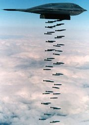 B-2 Spirit Bombing Run