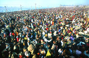 Largest gathering of Humanity on Earth. Around 70 million people participated in  at Haridwar