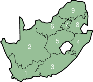 Map Of South Africa For Kids.Provinces Of South Africa Academic Kids
