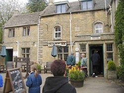 An amusingly named pub (the Old New Inn) at Bourton-on-the-Water, in the Cotswold Hills of south west