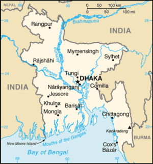 Map of Bangladesh