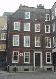 Dr Johnson's House, 17 Gough Square, London