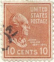 Tyler postage stamp