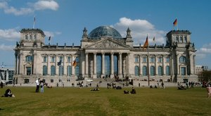 The Reichstag building (April 2004)
