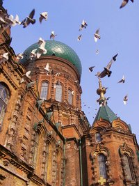 Saint Sophia Church in Harbin