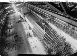 Construction of the , 1923