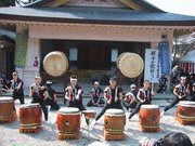 Taiko drummers in Aichi, Japan