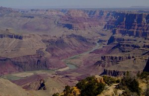 Colorado River in the Grand Canyon from Desert View