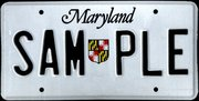 The sample version of Maryland's , first introduced in .