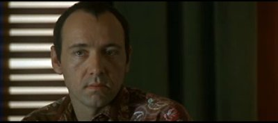 "Kevin Spacey as ""Verbal"" in The Usual Suspects"