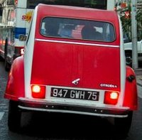 2CV Dolly from behind