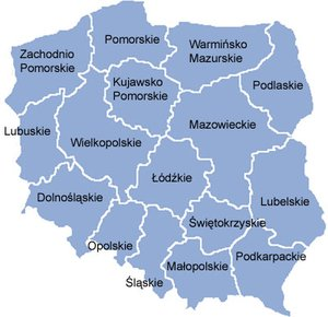 Poland voivodships since