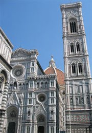 Florence Duomo and Campanile Tower