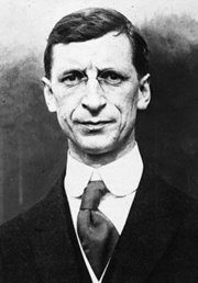 Eamon de Valera, founder and first leader of Fianna Fáil (1926-1959).  He served as  on three occasions.