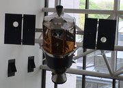 A satellite in museum