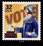 American women earned the right to vote with the passage of the 19th amendment to the U.S. Constitution