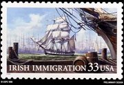 About 1.8 million  immigrated to North America during the