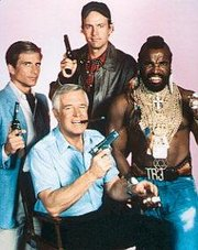 They love it when a plan comes together. (The A-Team was a success in second-run syndication.)