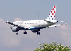 Croatia Airlines Airbus A319-100