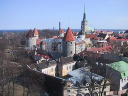 The view of Tallinn in 2002.