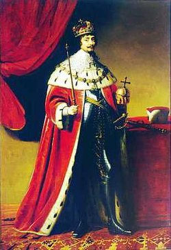 "Frederick V, Elector Palatine. Frederick was the leader of the Protestant Union and the ""Winter King of Bohemia"""