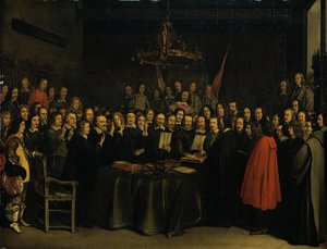 The Ratification of the Treaty of M�nsterby  (1648)