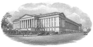 The US Treasury, Washington D.C.