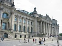The Reichstag building (June 2003)