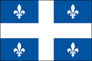 Fleurs-de-lys on the flag of