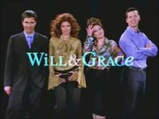 Main cast of Will and Grace. (left to right) , ,  and .