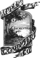 The very first Apple Computer logo, drawn by Ron Wayne