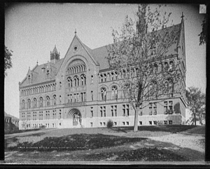 Williams Science Hall, University of Vermont, c. 1902