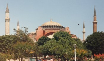 in Constantinople.  The city was captured by the Empire of Nicaea on July 25, 1261, thus re-establishing the Byzantine Empire.