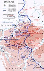 Wacht am Rhein—the German offensive, 16-25 December 1944