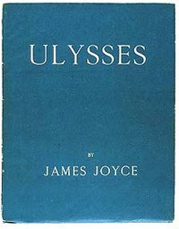 The first edition of Ulysses was published in 1922.