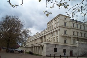The premises of the Royal Society in London.