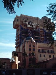The recently opened Twilight Zone Tower of Terror attraction