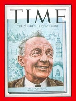 Time magazine cover featuring Joyce Cary, October 20, 1952