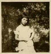 Photo of Alice Liddell by Lewis Carroll. (1858)