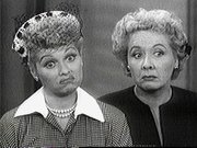 Lucy Ricardo & Ethel Mertz: They've probably got some 'splaining to do.