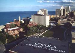 Loyola University is located in north Chicago's Rogers Park neighborhood.